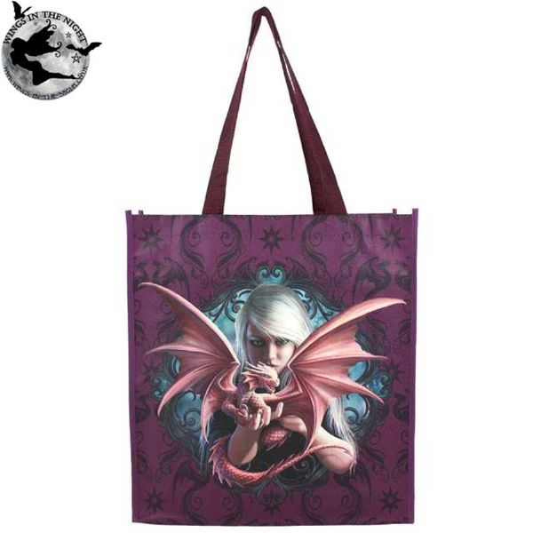 ANNE STOKES Dragon Kin Magical Shopping Bag